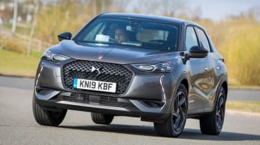 DS 3 Crossback - front cornering