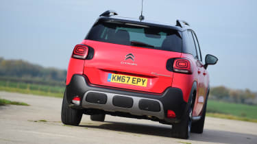 Citroen C3 Aircross - rear action