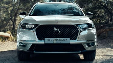 DS 7 Crossback E-Tense front end