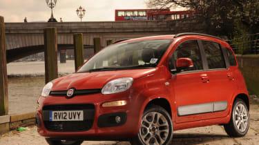 Fiat Panda TwinAir front three-quarters
