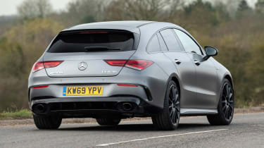 New Mercedes-AMG CLA 35 Shooting Brake 2020 review - pictures | Auto Express