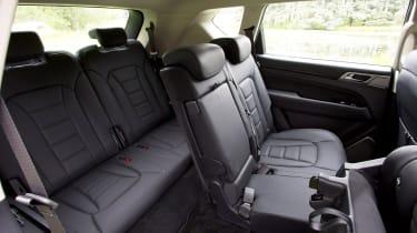 SsangYong Rexton - back seats