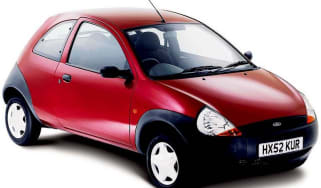 Front view of Ford Ka