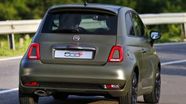 Fiat 500S 2016 - rear