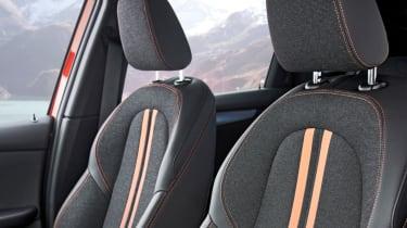 BMW 2 Series Active Tourer front seats