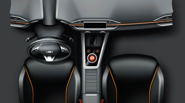 Lada XCode concept interior