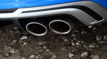 Audi TTS - exhausts