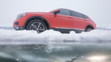 Volkswagen Tiguan ice shot