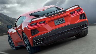 2020 Chevrolet Corvette - rear