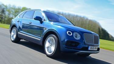 Bentley Bentayga - front