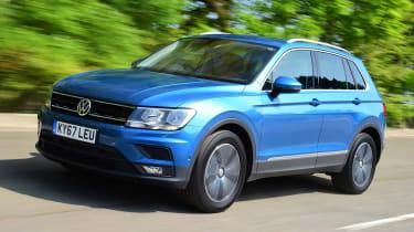 Volkswagen Tiguan - best used mid-size SUVs