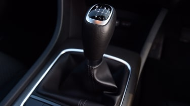 Kia Optima - gearstick