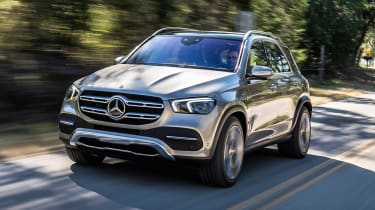 Mercedes GLE - front action