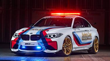 BMW M2 safety car