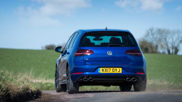 Volkswagen Golf R 2017 rear cornering