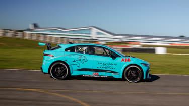 Jaguar I-Pace eTrophy - side