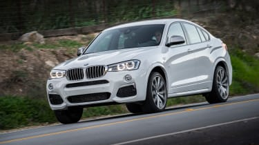 BMW X4 M40i - front tracking 3