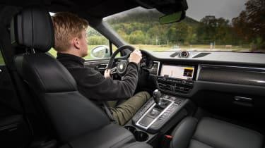 Porsche Macan Turbo - Brodie driving