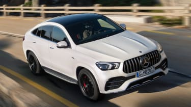 Mercedes-AMG GLE 53 Coupe - front tracking