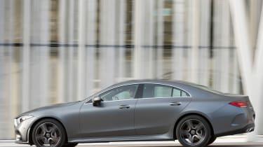 Mercedes CLS 400 d - side action
