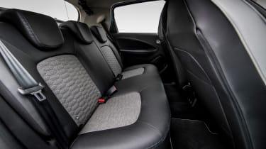 Renault ZOE - rear seats