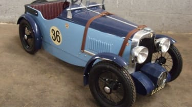 Old MG pedal car