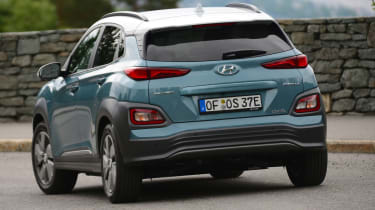 Hyundai Kona electric rear end