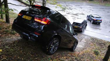 BMW X5 vs rivsals hill