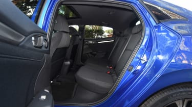 Honda Civic diesel - rear seats