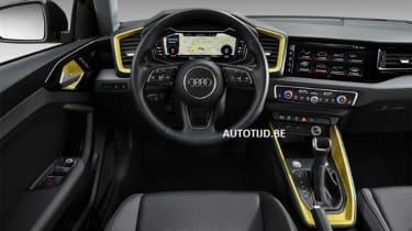 Audi A1 - leak dash