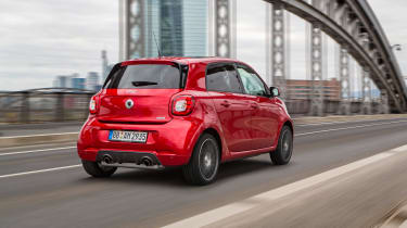 Smart ForTwo and ForFour Brabus rear