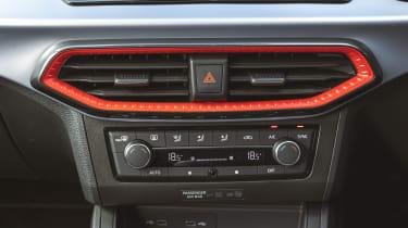 SEAT Ibiza facelift - centre console
