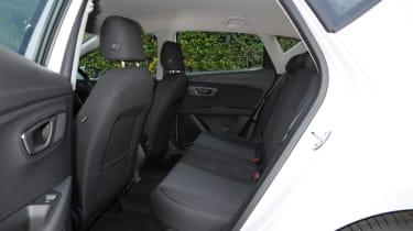 SEAT Leon Ecomotive rear seats