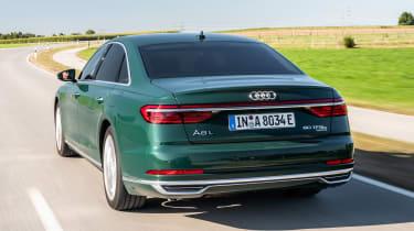 Audi A8 60 TFSI e - rear