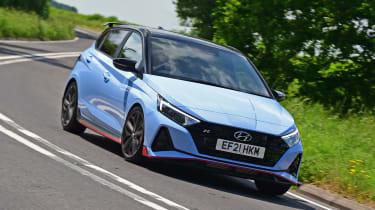 Hyundai i20 N - front action