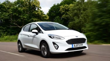 Ford Fiesta - front action