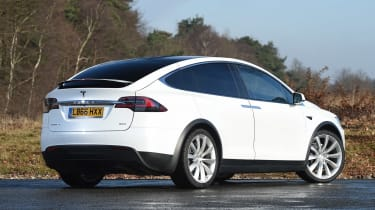 Used Tesla Model X - rear