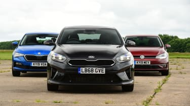 Kia Ceed Long term group