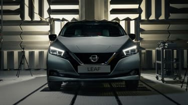 Nissan Leaf - full front