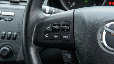 Used Mazda 3 - steering wheel detail