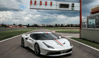 Ferrari 458 MM Speciale front side