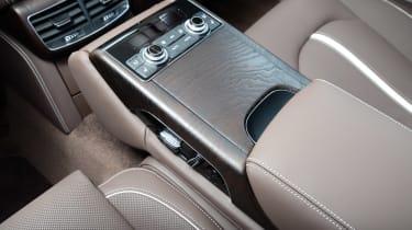 Audi A8 saloon 2014 console