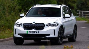 BMW iX3 - front cornering