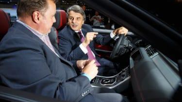 Jaguar Land Rover - LA Motor Show - Dr Speth
