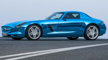 Mercedes SLS AMG Electric Drive front