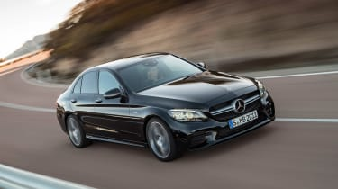 Mercedes-AMG C 43 - front tracking