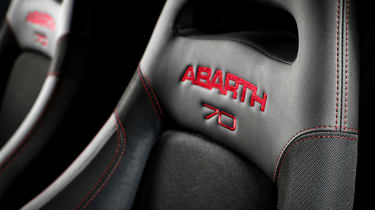 abarth 595 esseesse sabelt seats 70th anniversary
