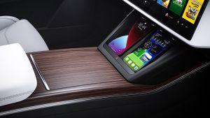 Tesla Model X facelift - rear mobile