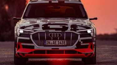 Audi e-tron Prototype review - front