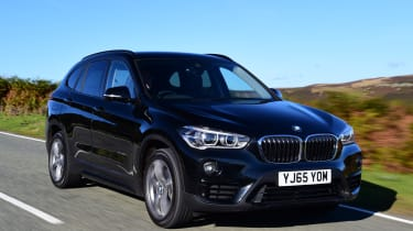 BMW X1 front tracking